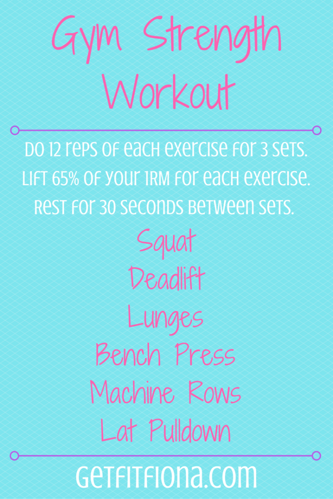 Gym Strength Workout