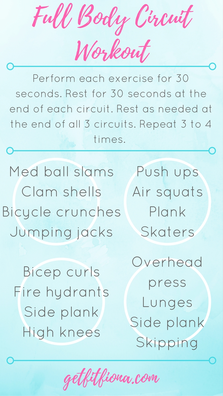 Full Body Circuit Workout Get Fit Fiona Holiday Jump And Jack Cardio