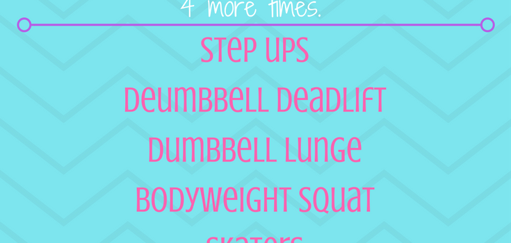 Lower Body Circuit Workout