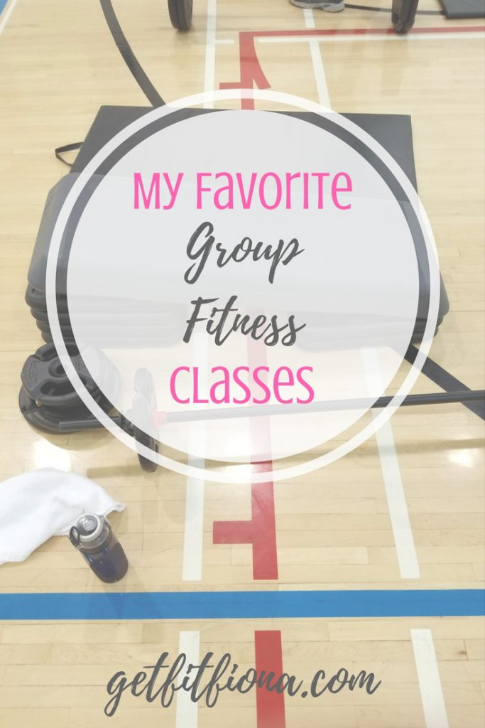 My Favorite Group Fitness Classes