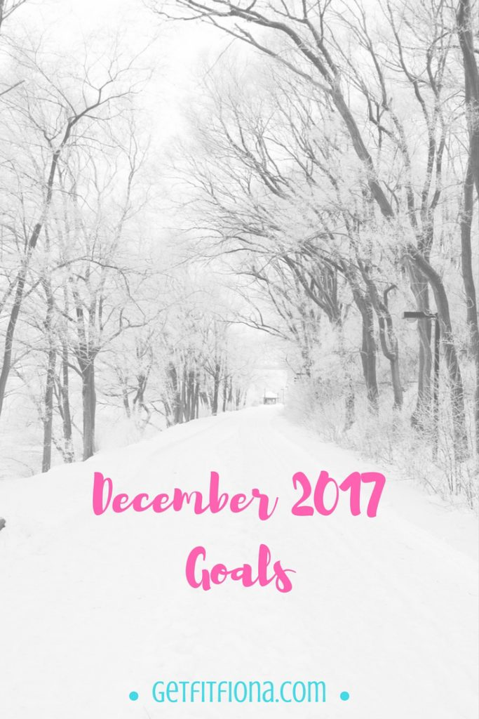 December 2017 Goals