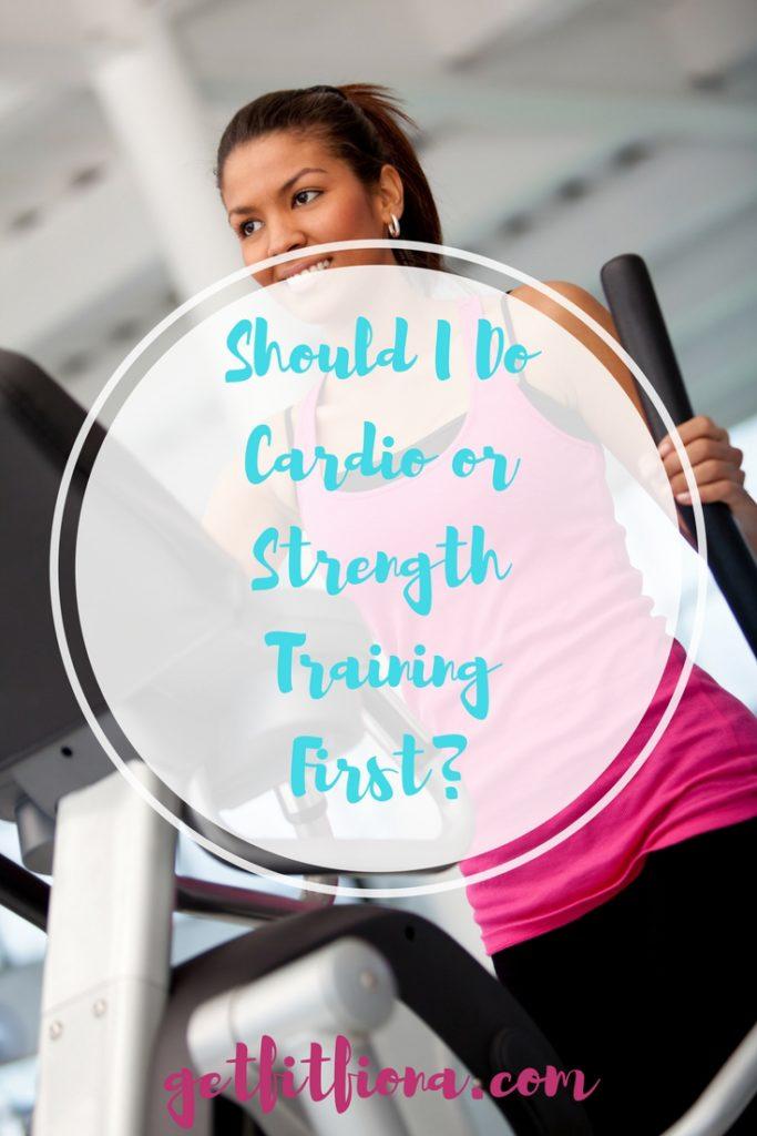 Should I Do Cardio or Strength Training First