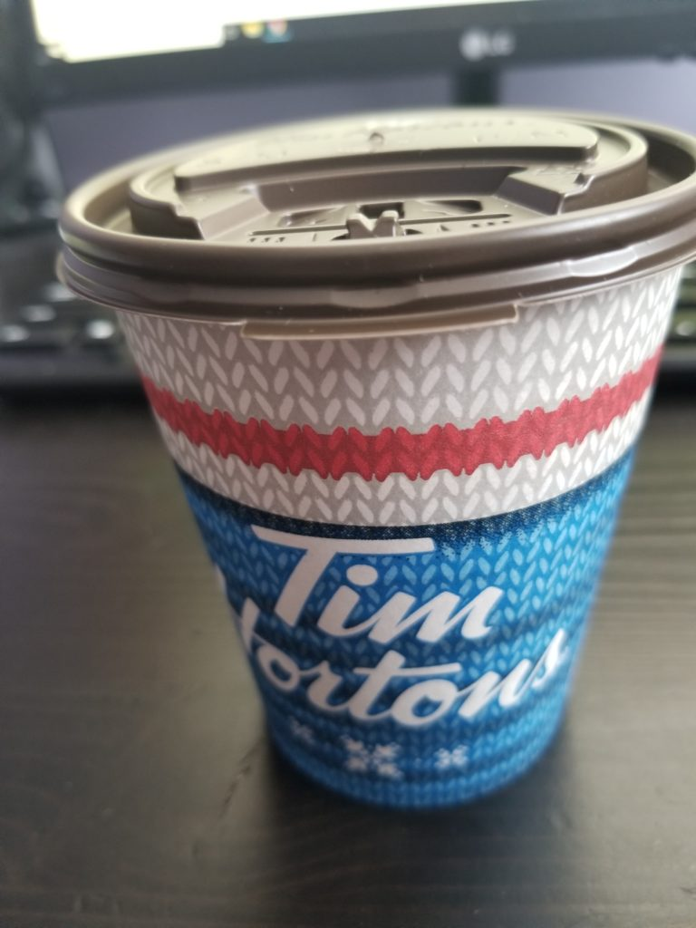 Tim Horton's Hot Chocolate