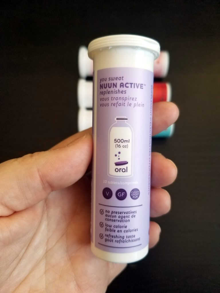 Nuun Electrolyte Tablet Review