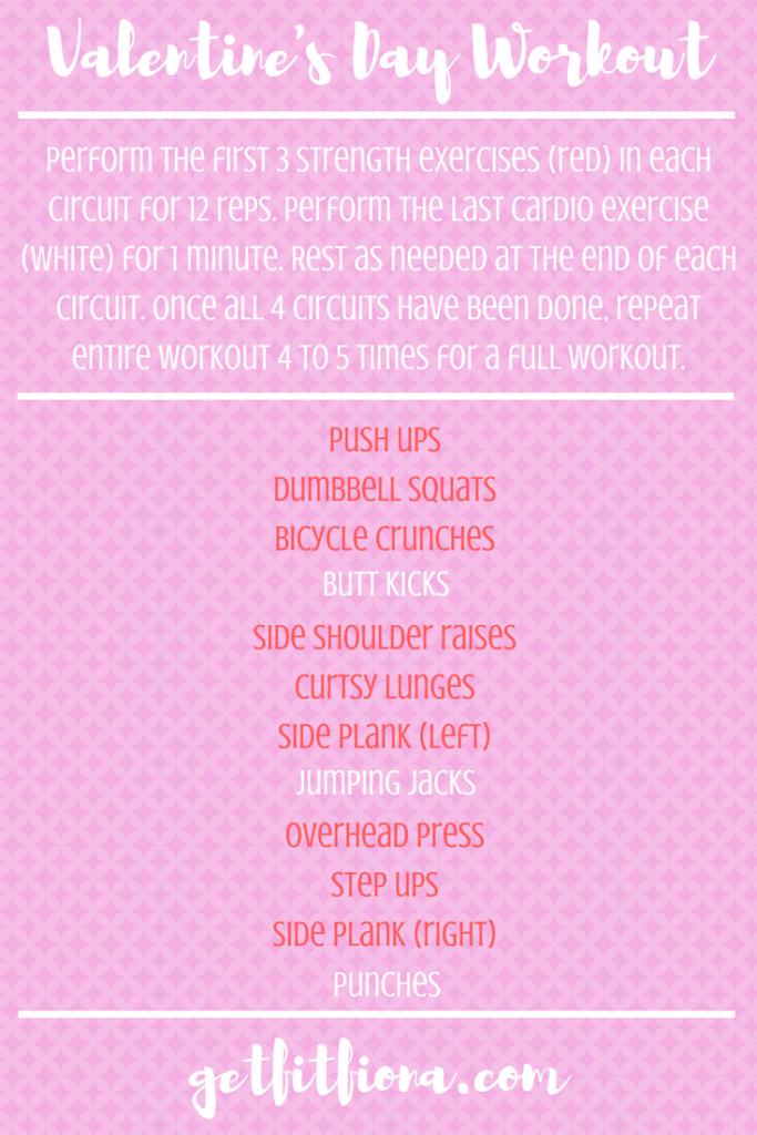 Valentine's Day Workout