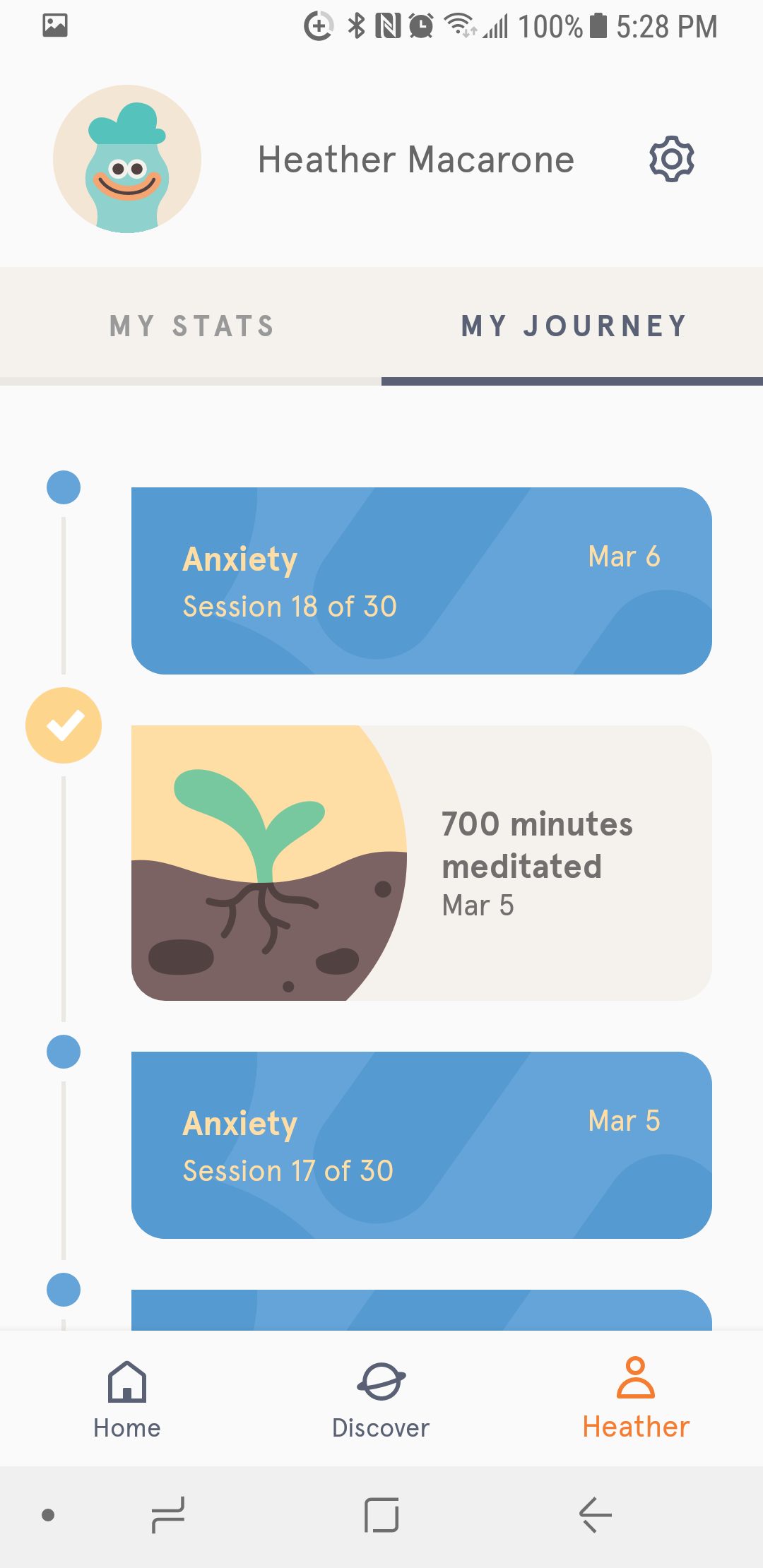 Using the Headspace App to Meditate