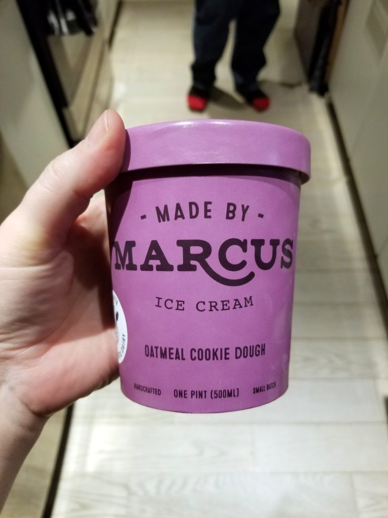 Made By Marcus Oatmeal Cookie Dough Ice Cream