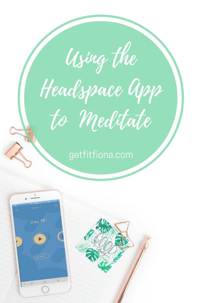 Using the Headspace App to Meditate March 13 2018