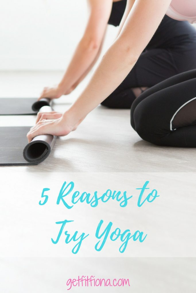 5 Reasons to Try Yoga