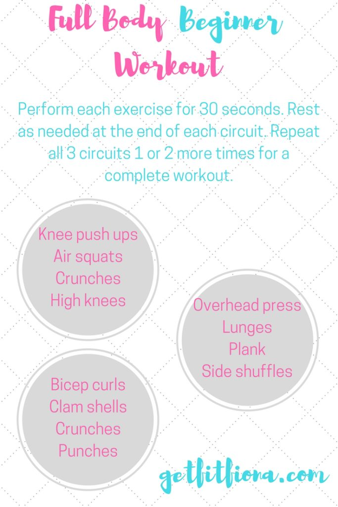 Full Body Beginner Workout