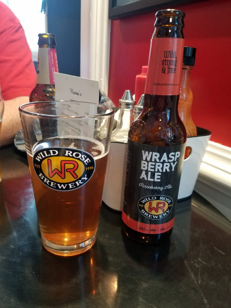 Wild Rose Brewery Wraspberry Ale