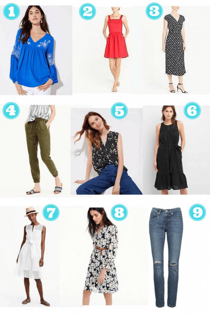 Summer 2018 Fashion Clothes
