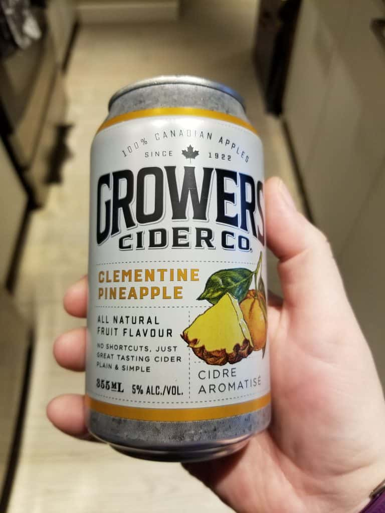 Clementine Pineapple Cider