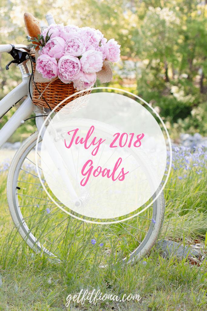 July 2018 Goals