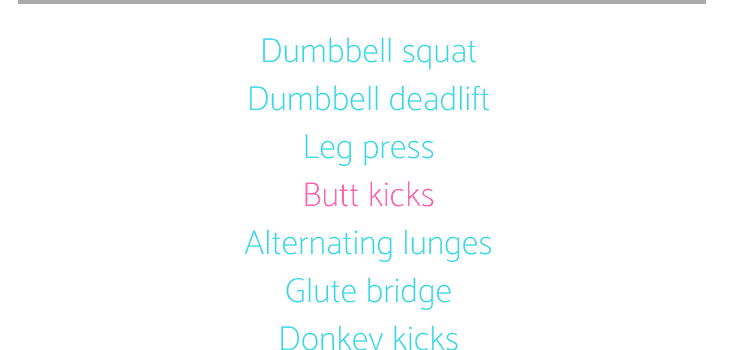 Lower Body Strength Workout with Cardio Bursts