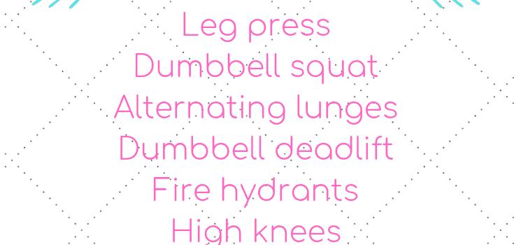 Lower Body Gym Workout