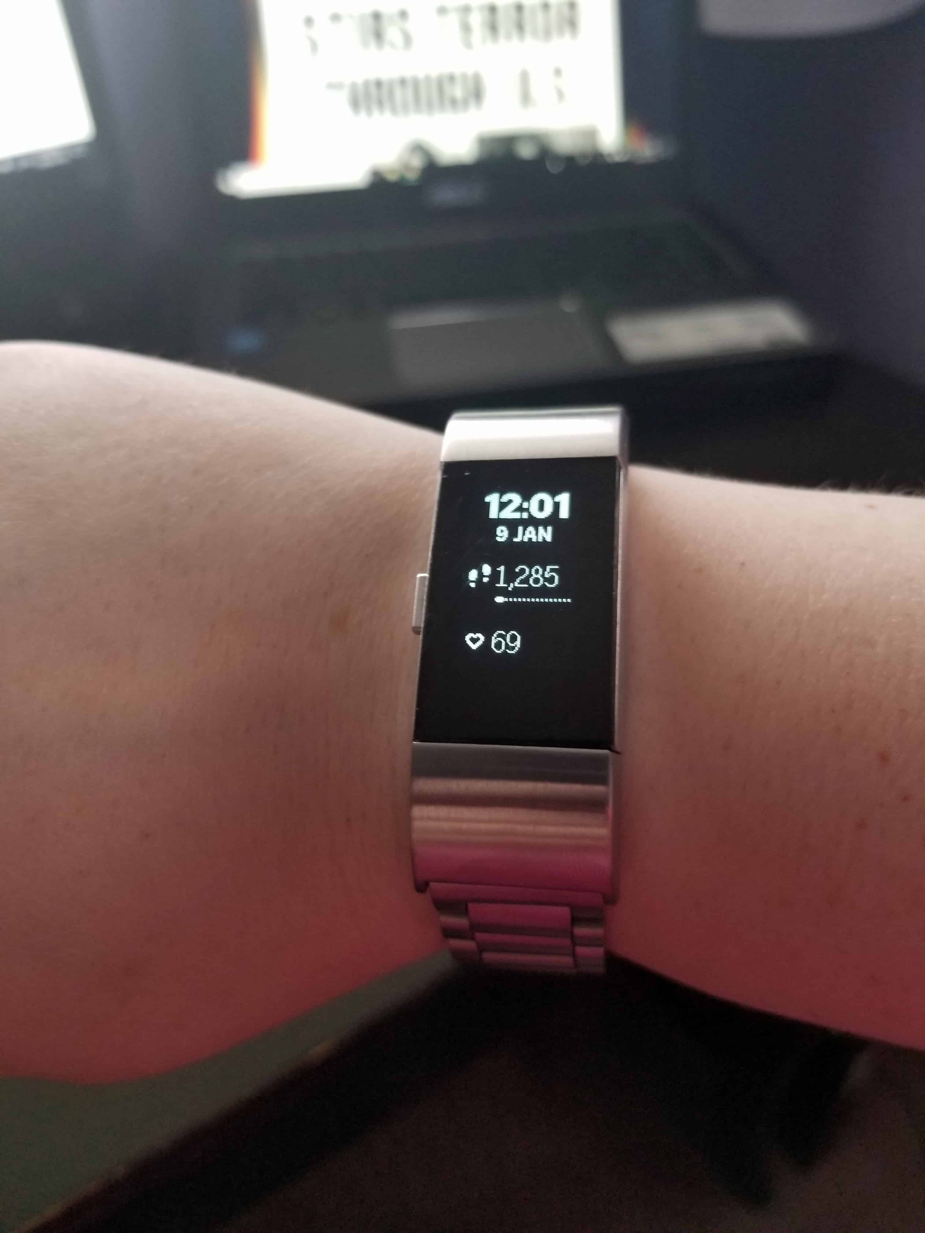 New Fitbit Charge 2 Band January 11 2019 - Get Fit Fiona