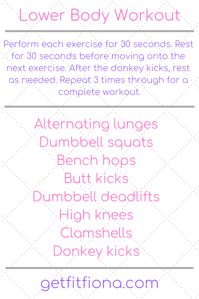 At Home Workout Roundup - Get Fit Fiona