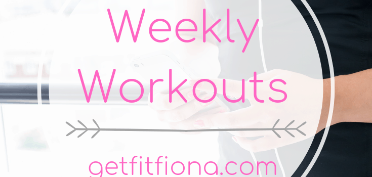 Weekly Workouts March 16 2019