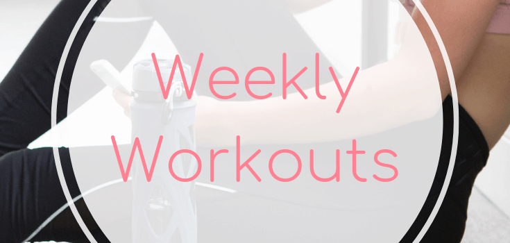 Weekly Workouts March 23 2019