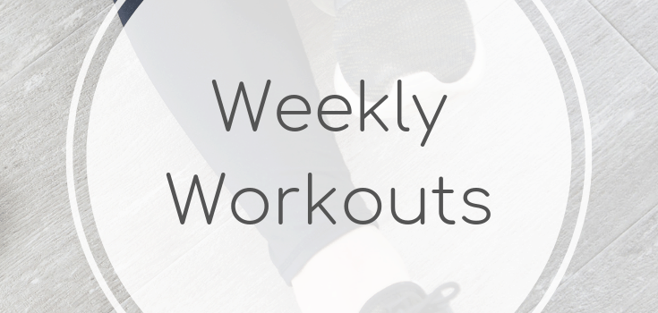 Weekly Workouts April 13 2019