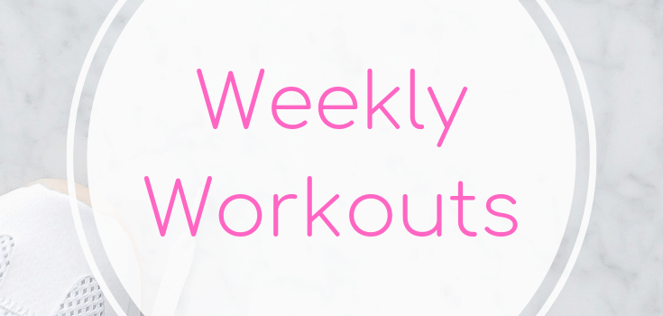 Weekly Workouts May 11 2019