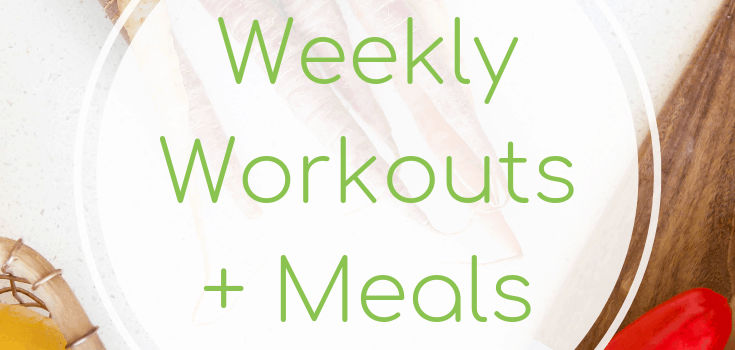Weekly Workouts + Meals: Cardio and Barbecue