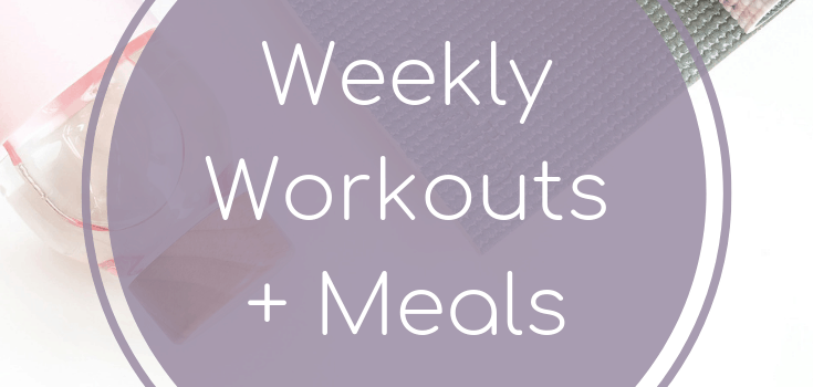 Weekly Workouts + Meals: Cardio Edition