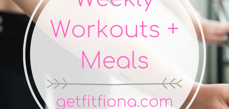 Weekly Workouts+ Meals