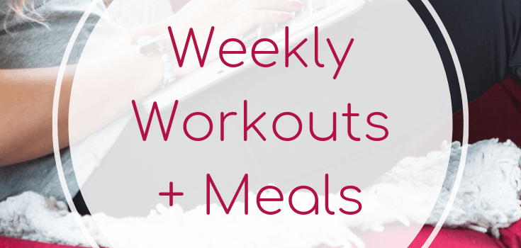 Weekly Workouts+ Meals: Cardio + Cupcakes