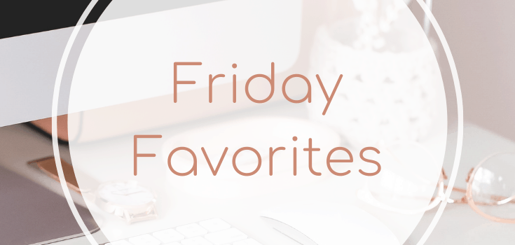 Friday Favorites: Fall Weather + a Spotify Playlist