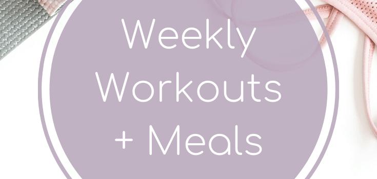 Weekly Workouts + Meals: Snowy Days + Gyoza