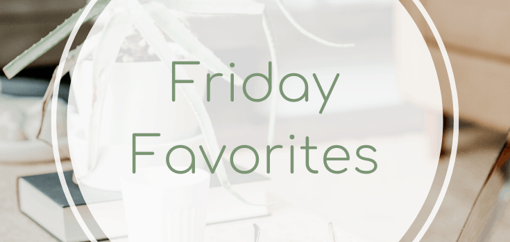 Friday Favorites: Netflix Series + Reading