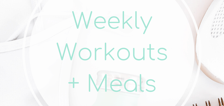 Weekly Workouts + Meals: Unexpected Rest Days + Burgers