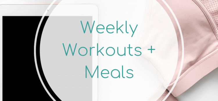 Weekly Workouts + Meals: Yoga + Chicken Nuggets